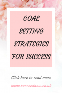 goal setting strategies for success