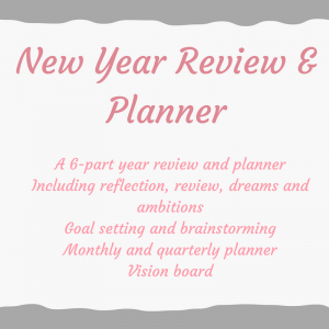 Review and planner