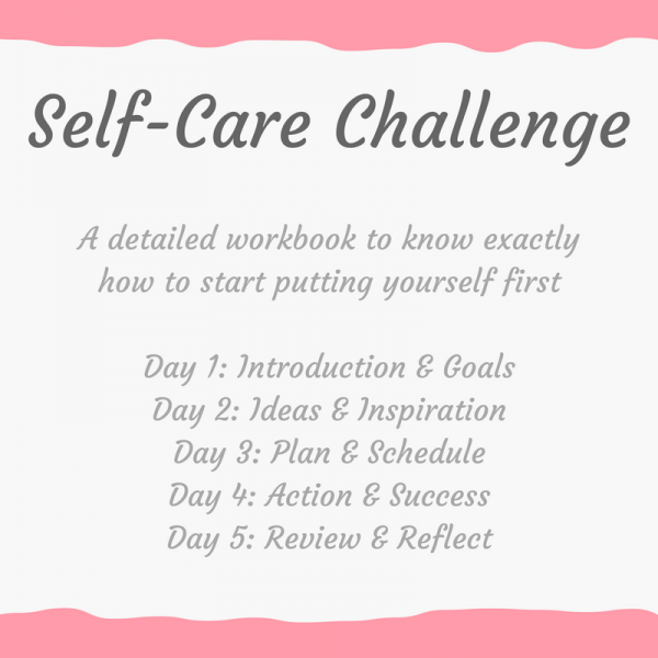 Click here to discover how to start making time for yourself without feeling guilty with this 5 day challenge