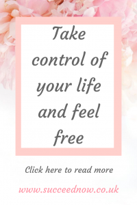 Click here to read 3 ways to take control of your life today and work towards feeling free