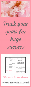 FREE GOAL TRACKER: Get consistent with your goals and habits