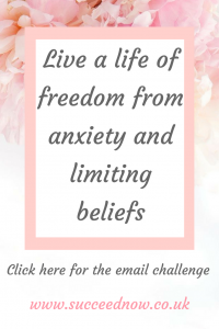FREE CHALLENGE: Live a life of freedom from anxiety and limiting beliefs
