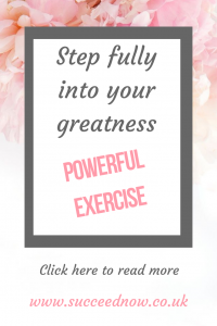 Click here for a powerful exercise to be turn your negative self-talk into positive