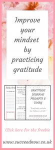 FREEBIE: Gratitude journal and prompts to start your day in the best way