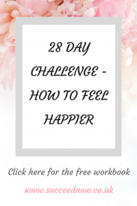 FREEBIE: 28 day challenge to feel happier