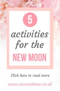 Click here to read 5 activities for manifesting in a new moon ritual
